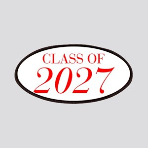 CLASS OF 2027-Bau red 501 Patch
