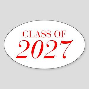 CLASS OF 2027-Bau red 501 Sticker