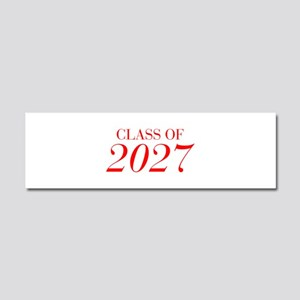 CLASS OF 2027-Bau red 501 Car Magnet 10 x 3