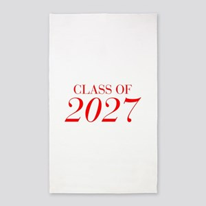 CLASS OF 2027-Bau red 501 Area Rug