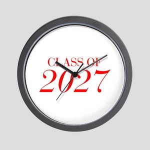 CLASS OF 2027-Bau red 501 Wall Clock