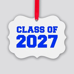CLASS OF 2027-Fre blue 300 Ornament