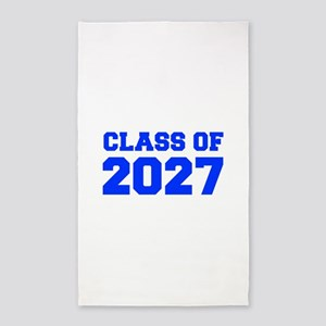 CLASS OF 2027-Fre blue 300 Area Rug