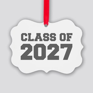 CLASS OF 2027-Fre gray 300 Ornament