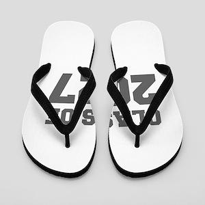 CLASS OF 2027-Fre gray 300 Flip Flops
