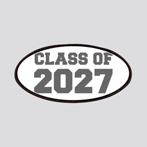 CLASS OF 2027-Fre gray 300 Patch