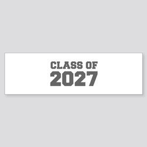CLASS OF 2027-Fre gray 300 Bumper Sticker