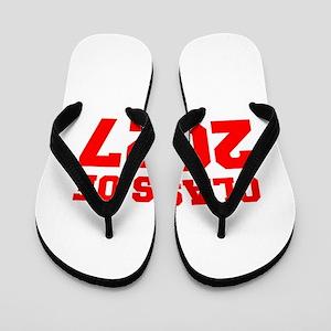 CLASS OF 2027-Fre red 300 Flip Flops