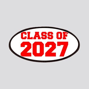 CLASS OF 2027-Fre red 300 Patch