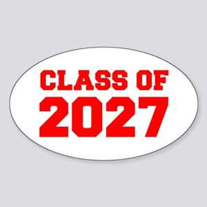 CLASS OF 2027-Fre red 300 Sticker
