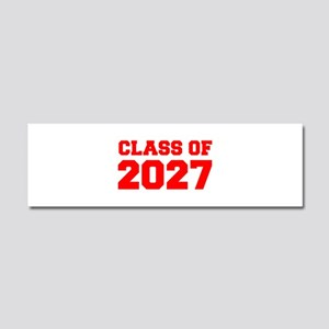 CLASS OF 2027-Fre red 300 Car Magnet 10 x 3