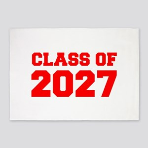 CLASS OF 2027-Fre red 300 5'x7'Area Rug