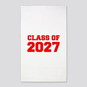 CLASS OF 2027-Fre red 300 Area Rug