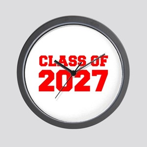 CLASS OF 2027-Fre red 300 Wall Clock