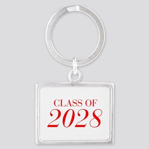 CLASS OF 2028-Bau red 501 Keychains