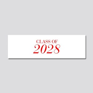CLASS OF 2028-Bau red 501 Car Magnet 10 x 3