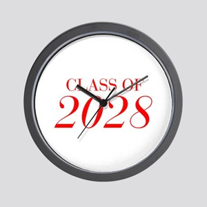 CLASS OF 2028-Bau red 501 Wall Clock