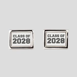 CLASS OF 2028-Fre gray 300 Rectangular Cufflinks
