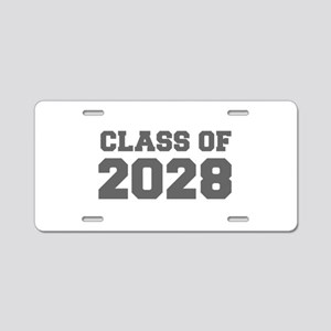 CLASS OF 2028-Fre gray 300 Aluminum License Plate