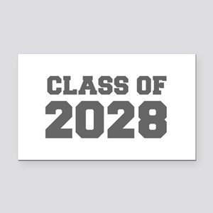 CLASS OF 2028-Fre gray 300 Rectangle Car Magnet