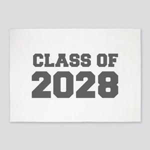 CLASS OF 2028-Fre gray 300 5'x7'Area Rug
