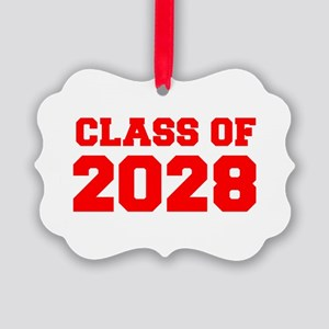CLASS OF 2028-Fre red 300 Ornament