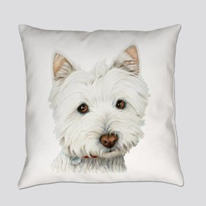 Cute West Highland White Terrier Dog Everyday Pill