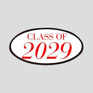 CLASS OF 2029-Bau red 501 Patch