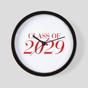 CLASS OF 2029-Bau red 501 Wall Clock