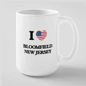 I love Bloomfield New Jersey Mugs