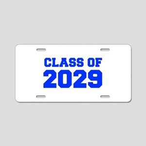 CLASS OF 2029-Fre blue 300 Aluminum License Plate