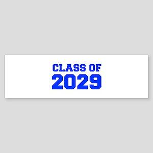 CLASS OF 2029-Fre blue 300 Bumper Sticker