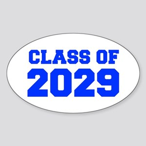 CLASS OF 2029-Fre blue 300 Sticker