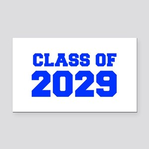 CLASS OF 2029-Fre blue 300 Rectangle Car Magnet