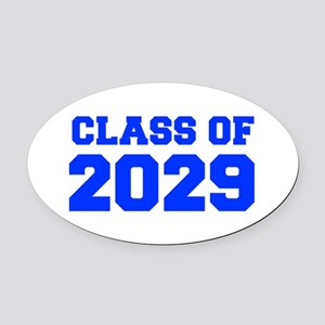 CLASS OF 2029-Fre blue 300 Oval Car Magnet