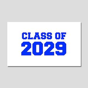 CLASS OF 2029-Fre blue 300 Car Magnet 20 x 12