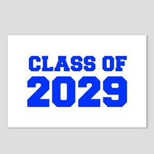 CLASS OF 2029-Fre blue 300 Postcards (Package of 8