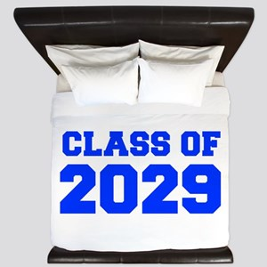 CLASS OF 2029-Fre blue 300 King Duvet