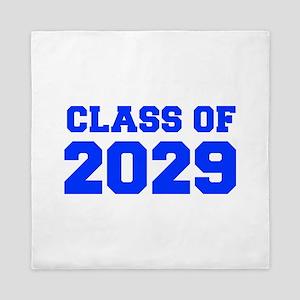 CLASS OF 2029-Fre blue 300 Queen Duvet