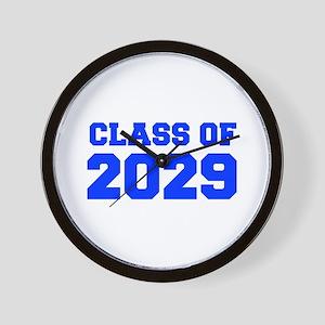 CLASS OF 2029-Fre blue 300 Wall Clock