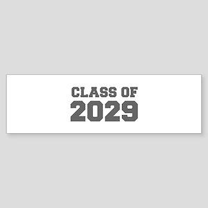 CLASS OF 2029-Fre gray 300 Bumper Sticker