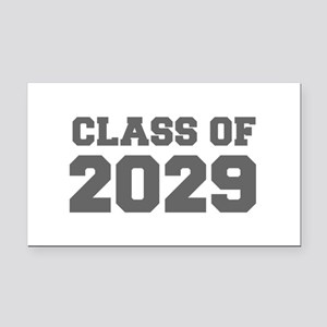 CLASS OF 2029-Fre gray 300 Rectangle Car Magnet