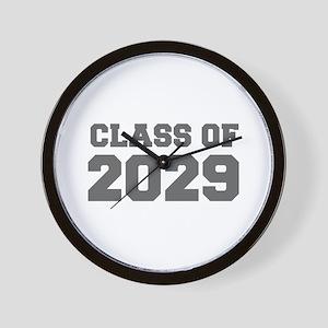 CLASS OF 2029-Fre gray 300 Wall Clock