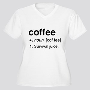 Coffee definition Plus Size T-Shirt