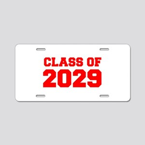 CLASS OF 2029-Fre red 300 Aluminum License Plate