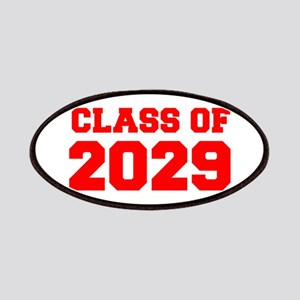 CLASS OF 2029-Fre red 300 Patch