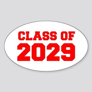 CLASS OF 2029-Fre red 300 Sticker