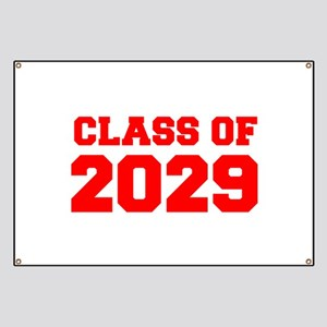 CLASS OF 2029-Fre red 300 Banner