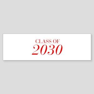 CLASS OF 2030-Bau red 501 Bumper Sticker