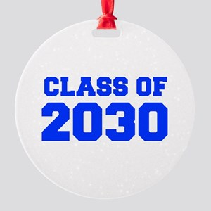 CLASS OF 2030-Fre blue 300 Ornament
